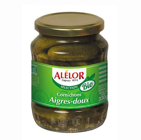 how to make sweet and sour gherkins