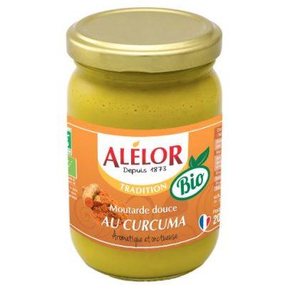 Moutarde douce au Curcuma Bio