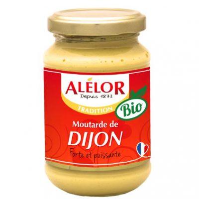 Moutarde de Dijon Bio Alélor, moutarde forte et puissante