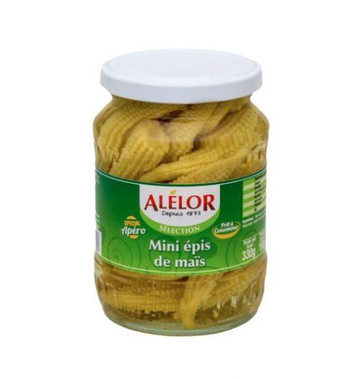Mini Epis de Maïs au vinaigre, entiers et croquants