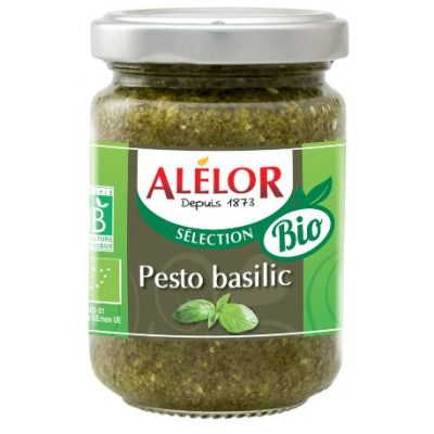 Pesto au Basilic Bio, vegan et tartinable