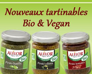 Bio et 100% vegan, de nouveaux pestos à savourer