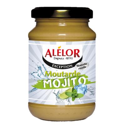 Moutarde au Mojito, une moutarde de l'été saveur cocktail