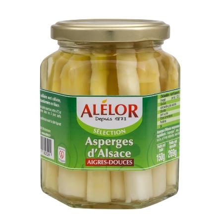 Asperges d'Alsace aigres-douces