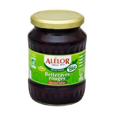 Betteraves rouges tranchées Bio 37cl
