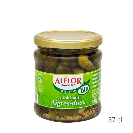 Cornichons aigres-doux Bio 37cl