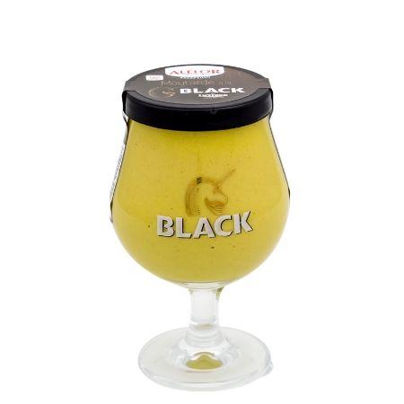 Moutarde à la Bière Licorne Black Galopin 170