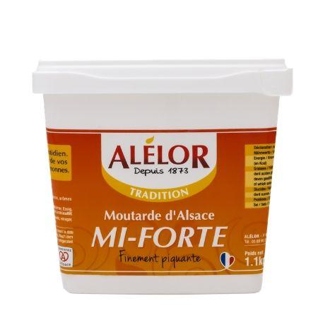 Moutarde Mi-Forte Seau 1,1Kg