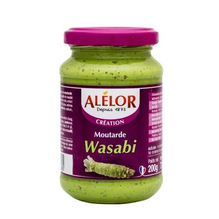 Moutarde au Wasabi 200g