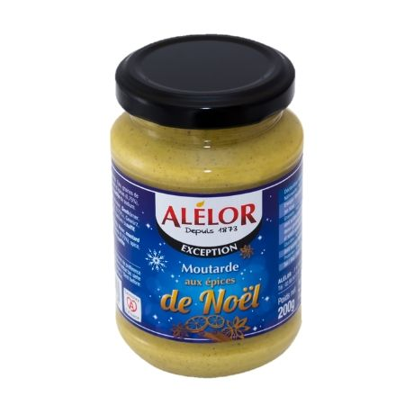 Moutarde aux Epices de Noël 200g