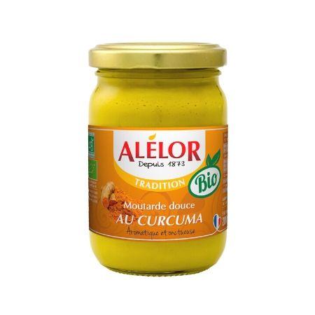 Moutarde douce au Curcuma et aux aromates Bio 200g