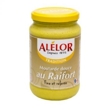 Moutarde douce au Raifort 350g