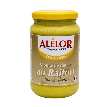 Moutarde douce au Raifort 350g
