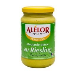 Moutarde douce au Riesling 350g