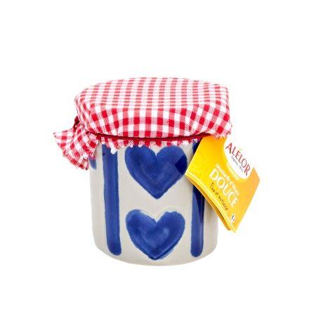 Moutarde douce d'Alsace Pot en Grès Coeur 100