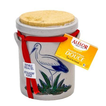 Moutarde douce d'Alsace Pot en Grès 230g