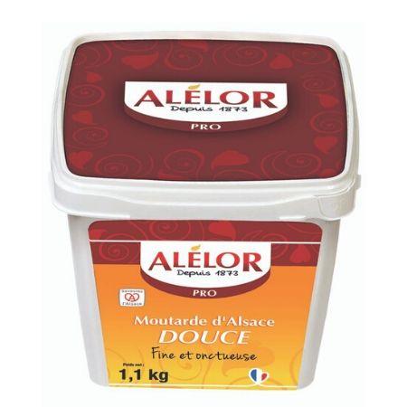 Moutarde douce d'Alsace Seau 1,1Kg