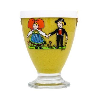 Moutarde douce d'Alsace Verre Hansi 280g