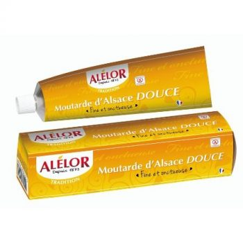 Moutarde douce d'Alsace en Tube 175g