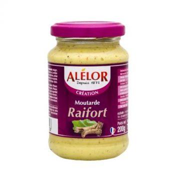 Moutarde forte au Raifort 200g
