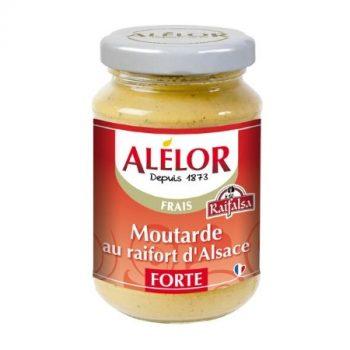 Moutarde forte au Raifort 205g