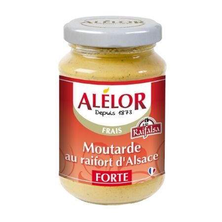 Moutarde forte au Raifort 205g