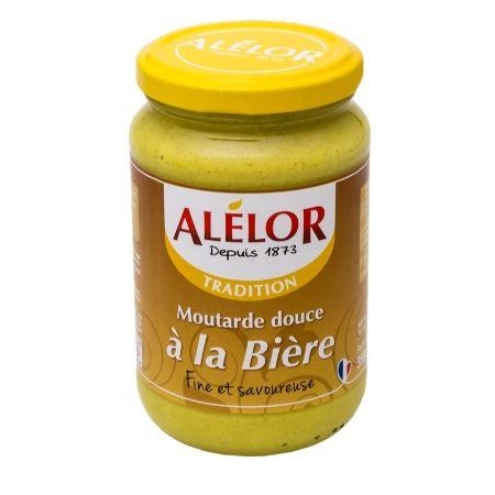 Moutarde douce à la Bière 350g