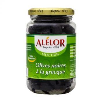 Olives noires à la Grecque 37cl