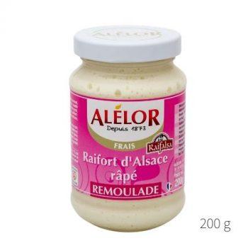 Raifort d'Alsace râpé Rémoulade 200g