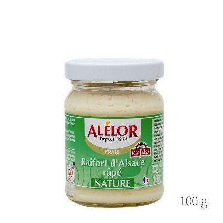 Raifort d'Alsace râpé nature 100g