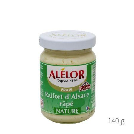Raifort d'Alsace râpé nature 140g