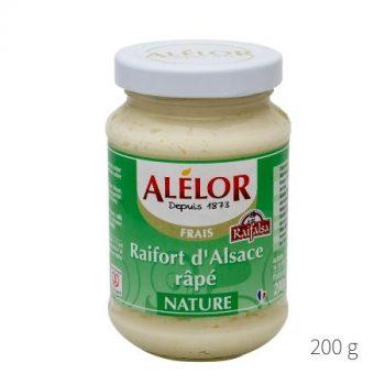 Raifort d'Alsace râpé nature 200g